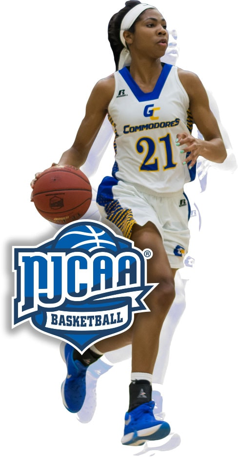 NJCAA Division I Women's Basketball Championship - Lubbock Texas Logo